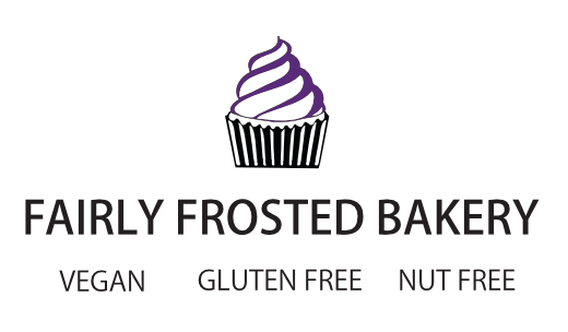 Fairly Frosted Bakery banner logo with the tagline \